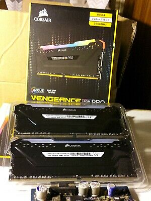 Corsair Vengeance Pro DDR4 2666MHZ Memory Kit 16GB - Black