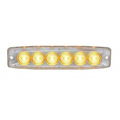 6 Hight Power Led Dual Color Warning Light