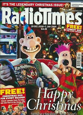 RADIO TIMES CHRISTMAS ISSUE 2008-2009 London/Anglia/Midlands Edition