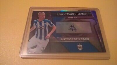 Topps Match Attax Ultimate Autograph Card Florent Hadergjonaj