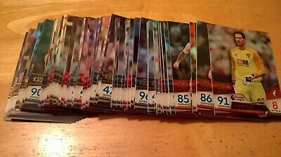 Full Base Set Topps Match Attax Ultimate 100 Cards