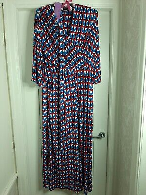 Laurie 3/4 Sleeve Printed Jumpsuit by Onjenu London Size 18 BNWT