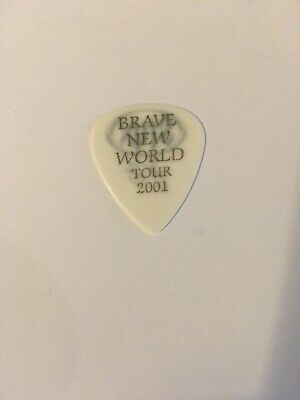 STYX 1999 Brave New World Tour Guitar Pick!! TOMMY SHAW custom concert stage #1