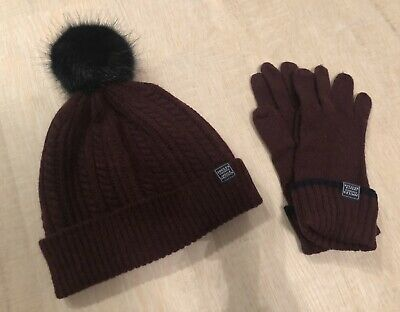 Joules hat & matching gloves set. New & unused