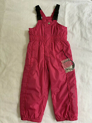 POIVRE BLANC Girl's Pink Snow Trousers. Age 2 Years. New with Tags.