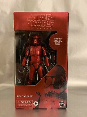 Star Wars Black Series Carbonized Sith Trooper Rise Of Skywalker Exclusive - New