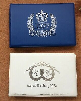 Royal Wedding 1973 & Queens Silver Jubilee 1977  UM stamp CW collections