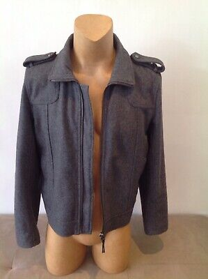 Mens POLITIX Grey Jacket Size 2XL...In New Condition