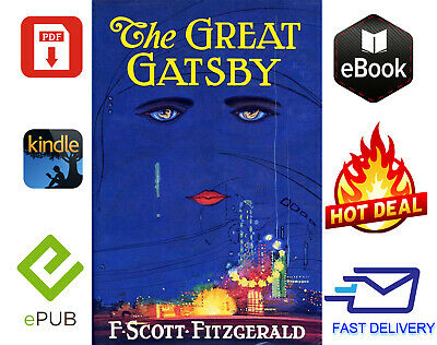 The Great Gatsby by F. Scott Fitzgerald 📚PDF📚 EPUB📚MOBI⚡FAST DELEVERY⚡