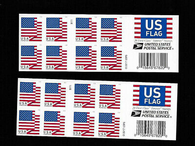 (40) US flag forever stamps-2 books of 20