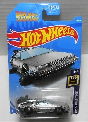 Hot Wheels 2019 Back To The Future Time Machine Hover Mode Screen Time Moc