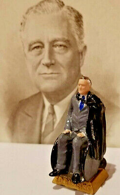 Franklin Roosevelt Seated Figurine - Add To Your Marx Collection
