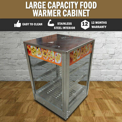 NEW Large Commercial Food Warmer Cabinet Stainless Steel