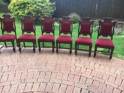 Beautiful Antique Dining Chairs - Set of 6