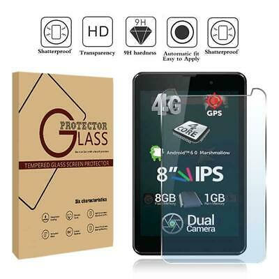 SN801 1x2x Samsung Note 8 Tablet Front Clear Screen Protector Anti-Scratch Cover