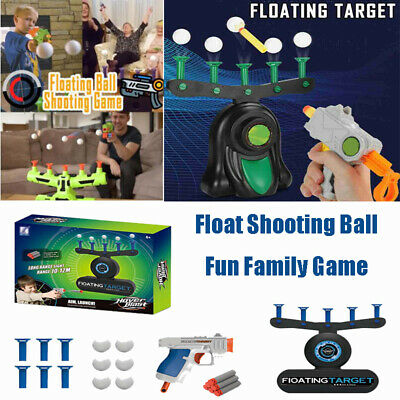 Hover Floating Target Shot Game Foam Dart Blaster Family Party Ball Toy Gift UK