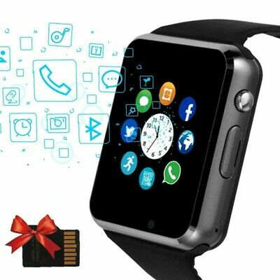 Waterproof Bluetooth Smart Watch Phone Mate For iphone IOS Samsung LG Android.US