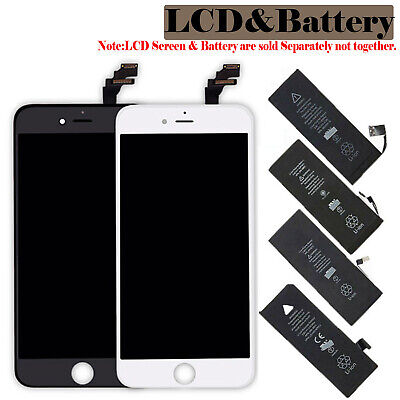 LCD Display Screen Digitizer Battery Replacement for iPhone 5 6 6s 7 7P 8 Plus X