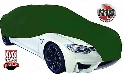To Fit Toyota Supra & Celica  Breathable Fabric Indoor Garage Car Cover Green L