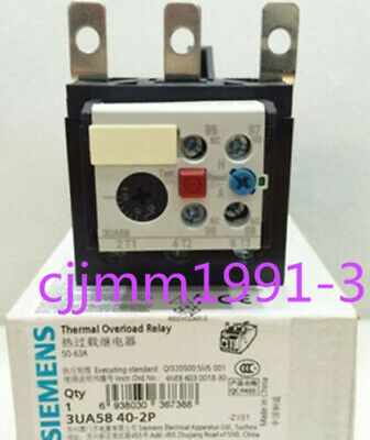 1PC New SIEMENS Thermal Overload Relay 3UA5840-2P 50-60A
