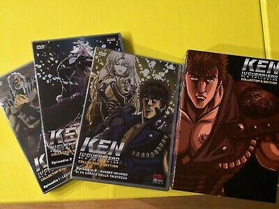 "Box 3 Dvd Anime ""Ken il guerriero La Trilogia"" Collector's Edition Video"