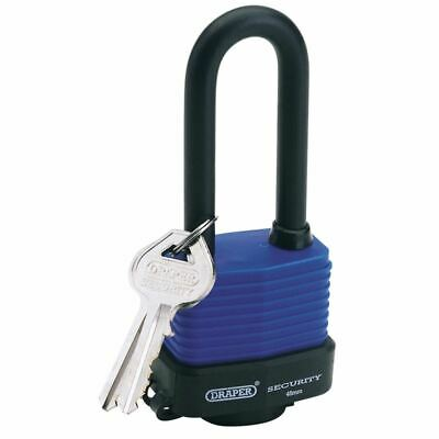 Draper 45mm Laminated Steel Padlock with Extra Long Shackle (64177)