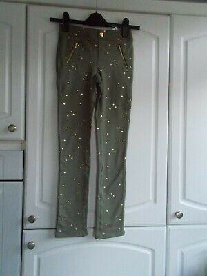 H&M Girls Age 10-11 Years Skinny Trousers Nwt