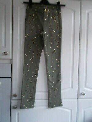 H&M Girls Age 11-12 Years Skinny Trousers Nwt