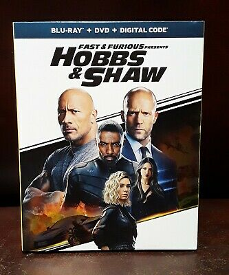 Fast And The Furious Presents: Hobbs and Shaw, [Blu-Ray+DVD] No Digital copy