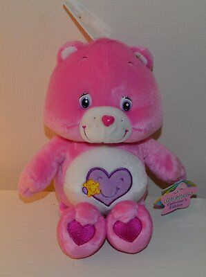 Peluche BISOUNOURS Take care Bears COLLECTOR 25cm NEUF 2003 Play Along