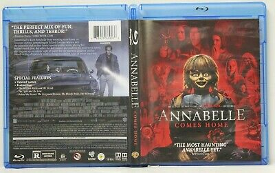 Annabelle Comes Home (Blu-Ray/DVD, 2 Disc-Set,2019) FREE Shipping No Digital