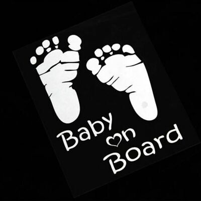 Fashion Auto Graphics Vinyl Car Sticker Baby on Board Window Vehicle Decal
