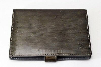 Authentic Louis Vuitton Cyber Monogram Agenda PM Day Planner TA3161-%
