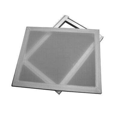 Aluminum Frame Silkscreen Printing Screens with 160 Mesh Count/White Color Mesh