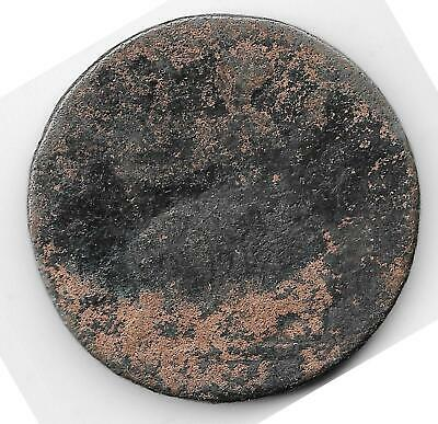 US Colonial Era Coin: Old Copper George II Great Britain Half Penny 1746 G+ #1