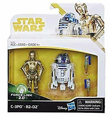 Star Wars Force Link 2.0 Exclusive Action Figure Pack - C-3Po & R2-D2 - Rare!