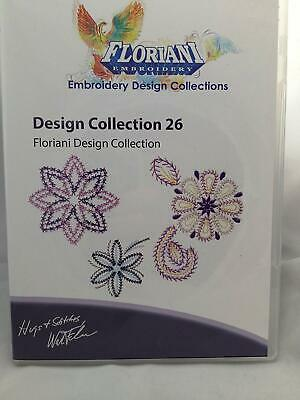 Floriani Design Collection 26 - Floral themed by Floriani