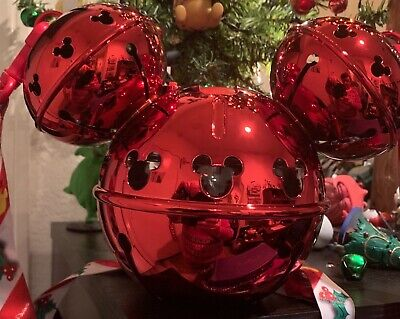 Disney Parks 2019 Holiday Christmas Mickey Jingle Bell Ornament Sipper