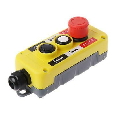 Industrial Push Button Switch for Crane Electric Control Station Emergency Stop