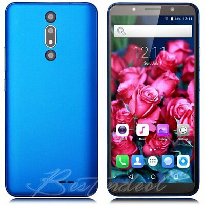 """6"""" Android Quad Core 1.3Ghz 2SIM Factory Unlocked Smartphone 3G GSM Mobile Phone"""