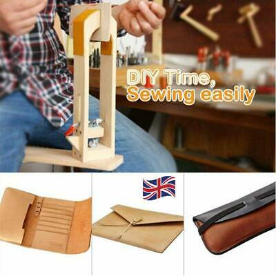 Leathercraft Lacing Pony Sewing Horse Vice Clamp Tools Leather Stitching Home
