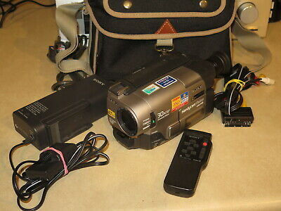 """Sony CCD-TRV64E Hi8 8mm Camcorder, Sony Handycam 8mm Video Camera with 2.5"""" LCD"""