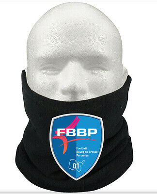 FC Bourg-Péronnas F.C THERMAL Football Fleece NeckWarmer Gift Mask Snood Scarf