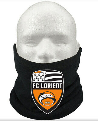 FC Lorient F.C THERMAL Football Fleece NeckWarmer Gift Mask Snood Scarf