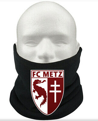 FC Metz F.C THERMAL Football Fleece NeckWarmer Gift Mask Snood Scarf