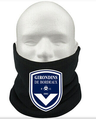 Girondins Bordeaux F.C THERMAL Football Fleece NeckWarmer Gift Mask Snood Scarf