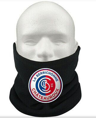 LB Châteauroux F.C THERMAL Football Fleece NeckWarmer Gift Mask Snood Scarf