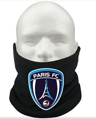Paris F.C THERMAL Football Fleece NeckWarmer Gift Mask Snood Scarf