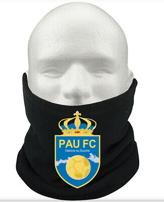 Pau F.C THERMAL Football Fleece NeckWarmer Gift Mask Snood Scarf
