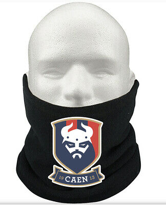 SM Caen F.C THERMAL Football Fleece NeckWarmer Gift Mask Snood Scarf